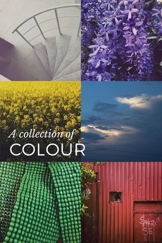 COLOUR A collection of