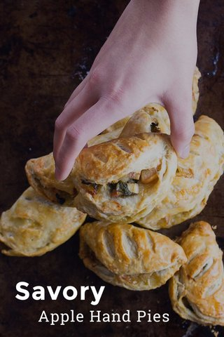 Savory Apple Hand Pies