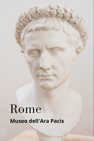 Rome Museo dell'Ara Pacis