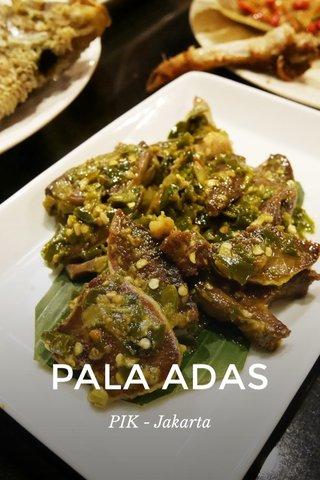 PALA ADAS PIK - Jakarta