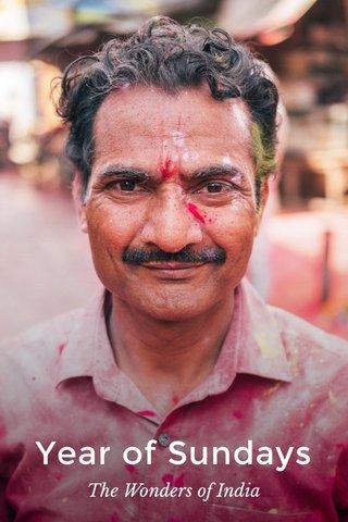 Year of Sundays The Wonders of India