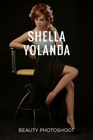 SHELLA YOLANDA BEAUTY PHOTOSHOOT