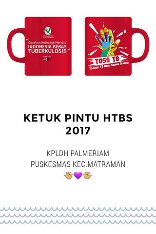 KETUK PINTU HTBS 2017