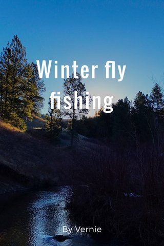 Winter fly fishing By Vernie