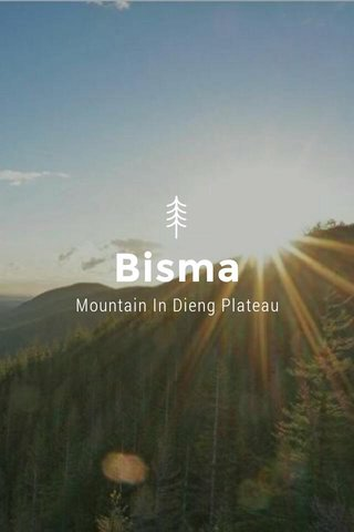 Bisma Mountain In Dieng Plateau
