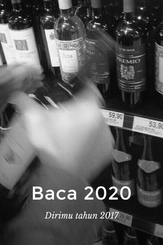 Baca 2020 Dirimu tahun 2017
