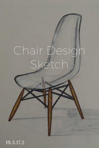Chair Design Sketch 19.3.17.2