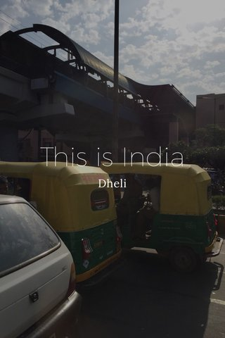 This is India Dheli