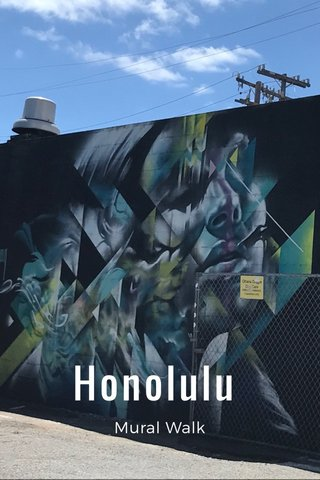 Honolulu Mural Walk