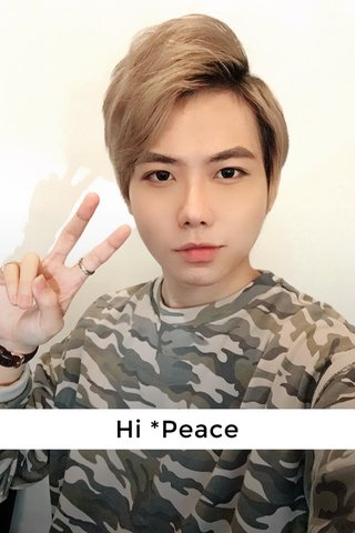 Hi *Peace