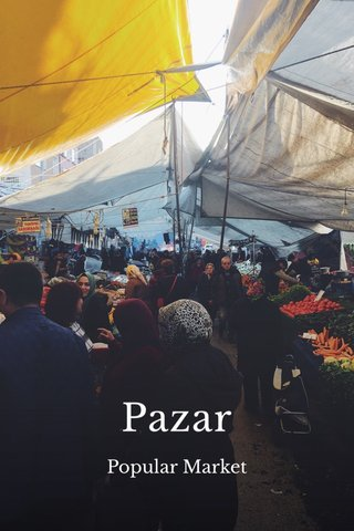 Pazar Popular Market