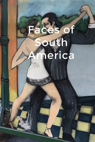 Faces of South America