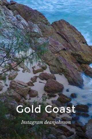 Gold Coast Instagram deanjohnson