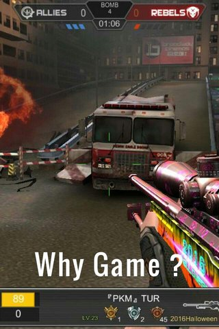 Why Game ?