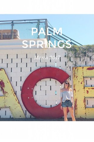 PALM SPRINGS March 2017