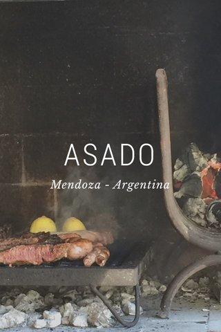 ASADO Mendoza - Argentina