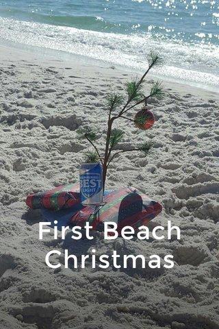 First Beach Christmas