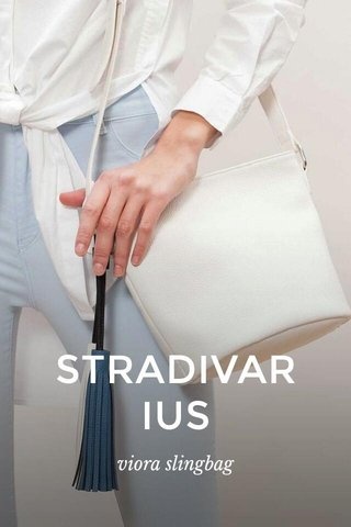 STRADIVARIUS viora slingbag