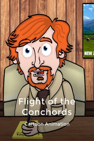 Flight of the Conchords Cartoon Animation