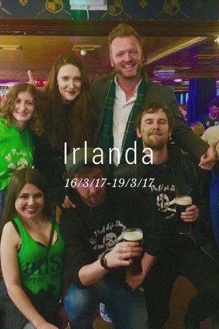 Irlanda 16/3/17-19/3/17