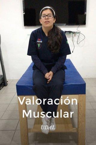 Valoración Muscular UDAL
