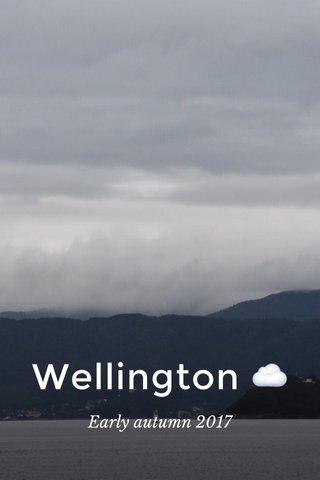 Wellington ☁️ Early autumn 2017