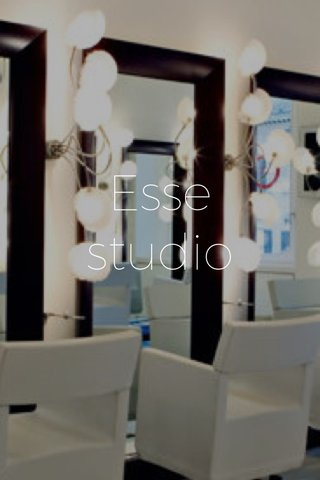 Esse studio