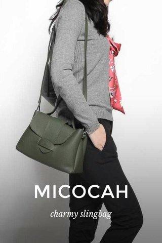 MICOCAH charmy slingbag