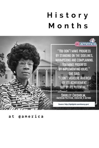 History Months at @america