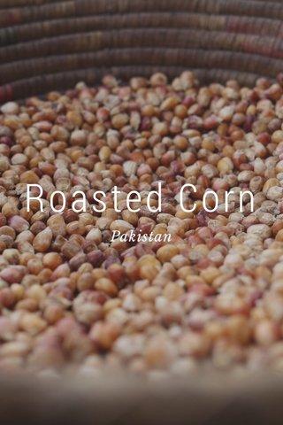 Roasted Corn Pakistan
