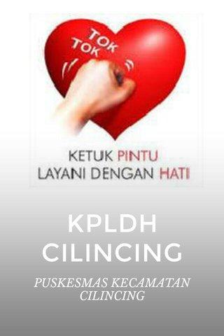 KPLDH CILINCING PUSKESMAS KECAMATAN CILINCING