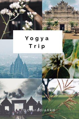 Yogya Trip @claradiankd