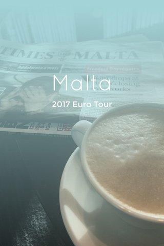 Malta 2017 Euro Tour