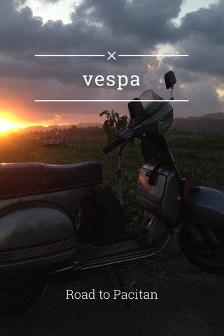 vespa Road to Pacitan