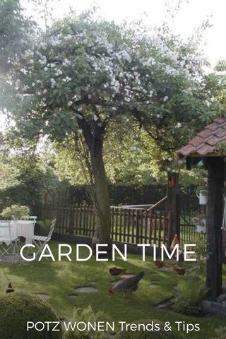 GARDEN TIME POTZ WONEN Trends & Tips