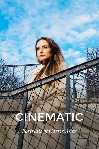 CINEMATIC Portraits of Carrie Anne