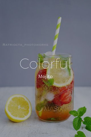 Colorful Mojito