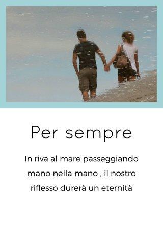Per sempre
