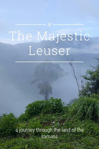 The Majestic Leuser a journey through the land of the samans