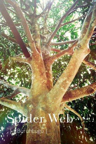Spider Web | #BuruhLugu |