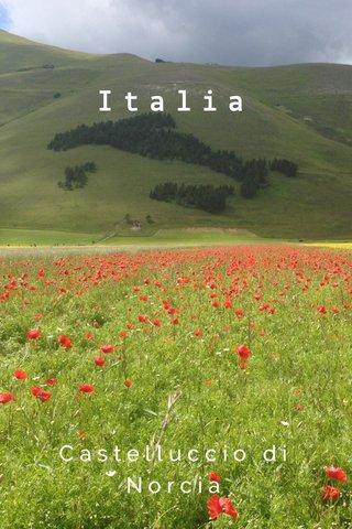 Italia Castelluccio di Norcia