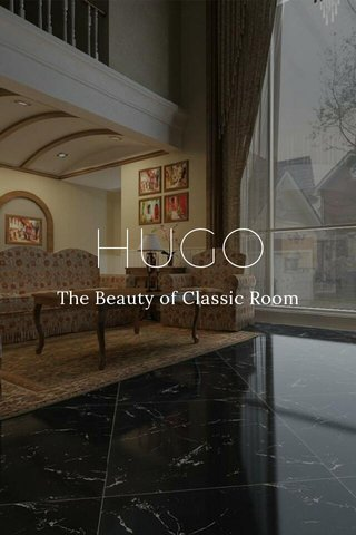 HUGO The Beauty of Classic Room