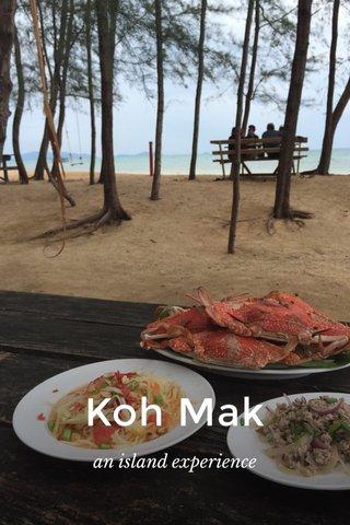 Koh Mak an island experience