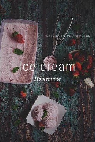 Ice cream Homemade