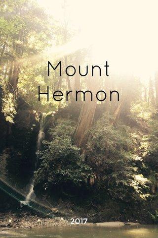 Mount Hermon 2017