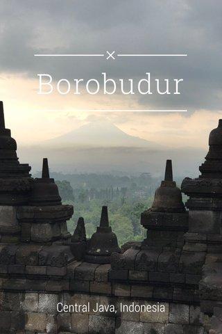 Borobudur Central Java, Indonesia