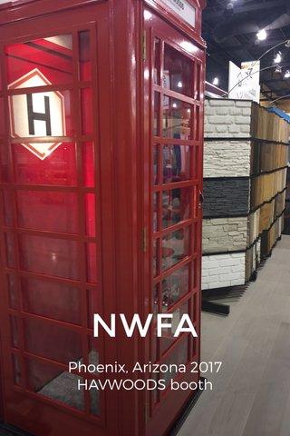 NWFA Phoenix, Arizona 2017 HAVWOODS booth