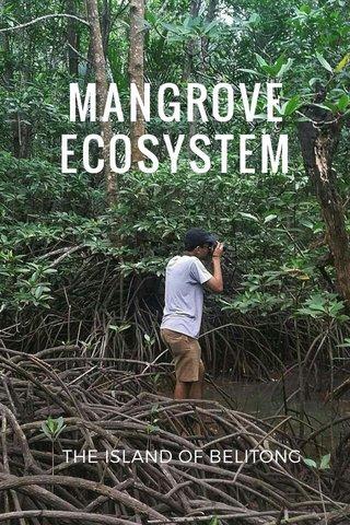 MANGROVE ECOSYSTEM THE ISLAND OF BELITONG