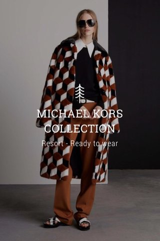 MICHAEL KORS COLLECTION Resort - Ready to wear