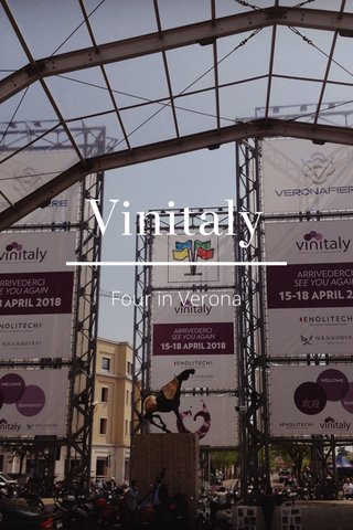 Vinitaly Four in Verona